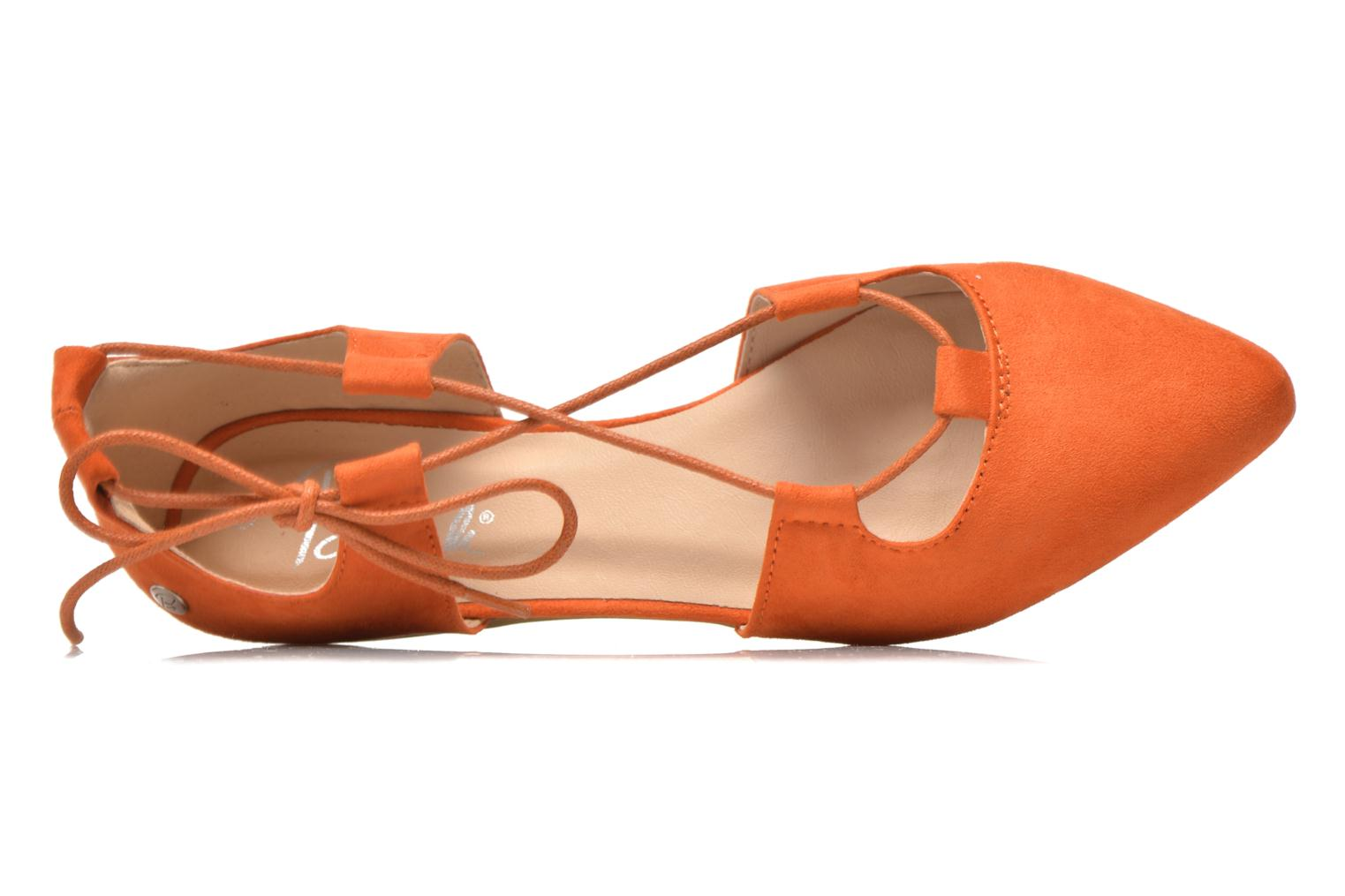 Ballet pumps Blink New-Imanil Orange view from the left