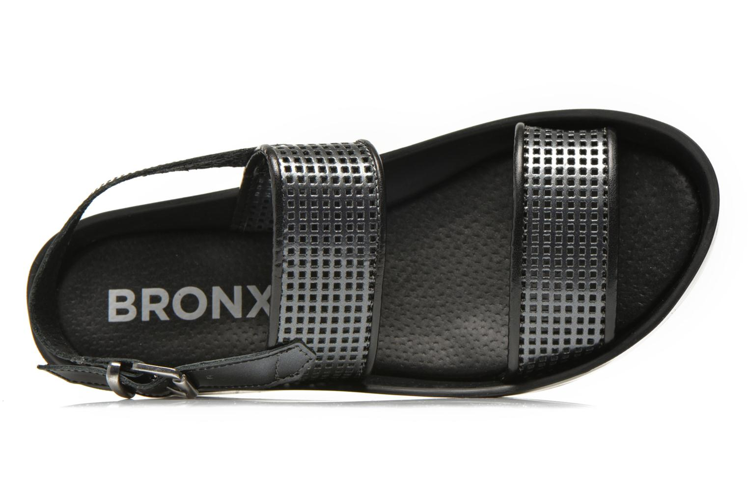 Sandals Bronx Allix B Grey view from the left