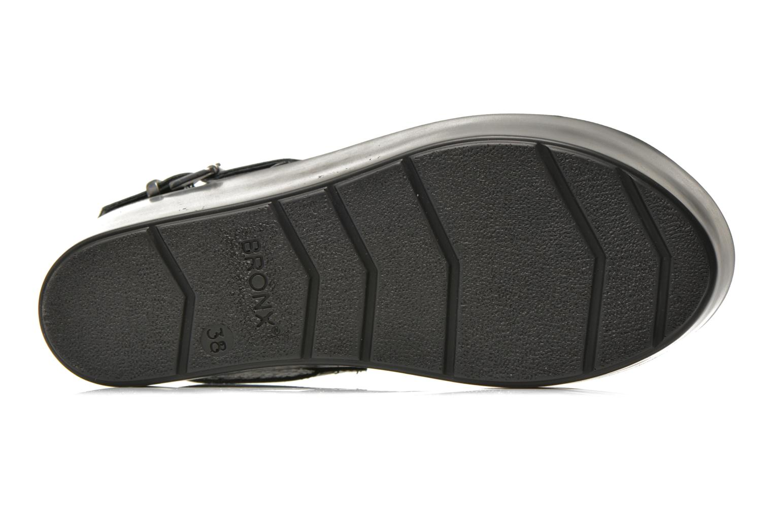 Sandals Bronx Allix B Grey view from above