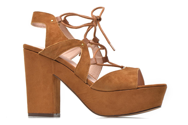 Sandales et nu-pieds Bronx Jada Marron vue derrière