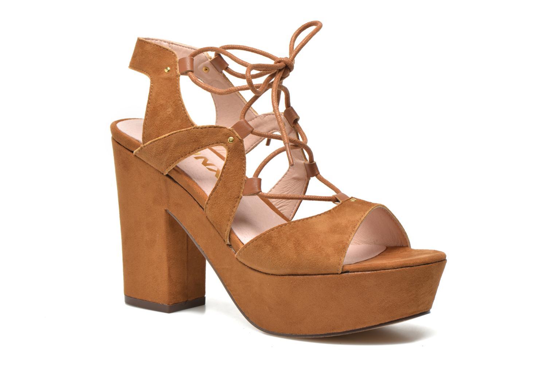 Sandales et nu-pieds Bronx Jada Marron vue détail/paire