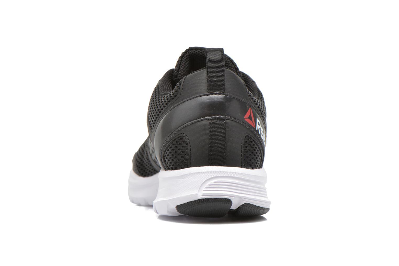 Zapatillas de deporte Reebok Reebok rush Negro vista lateral derecha