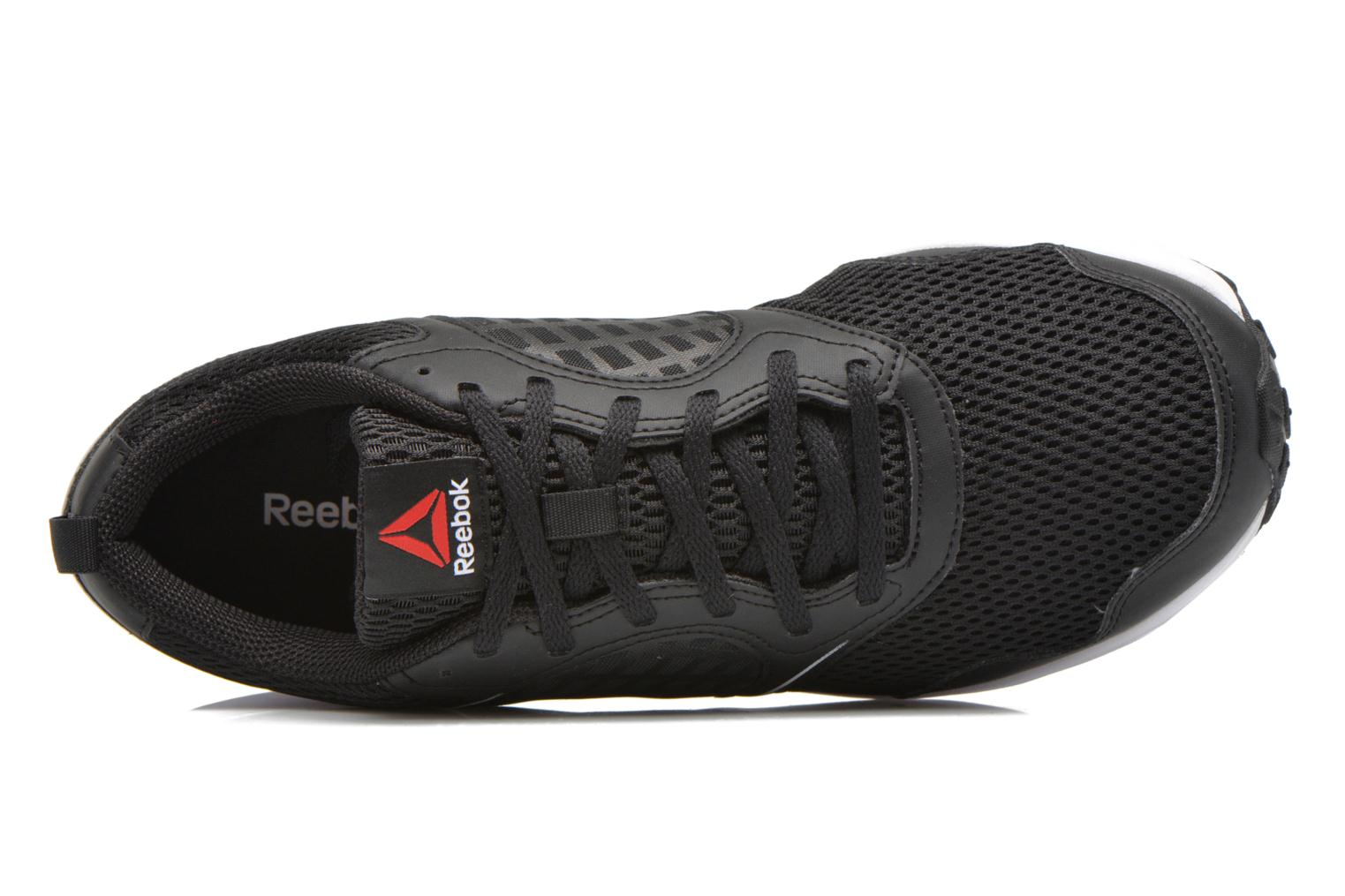 Sport shoes Reebok Reebok rush Black view from the left