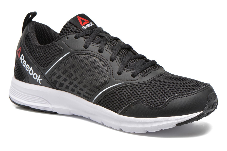Sport shoes Reebok Reebok rush Black detailed view/ Pair view