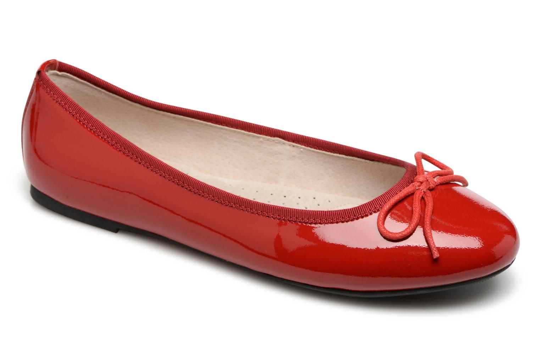 Ballerine nœud Rouge