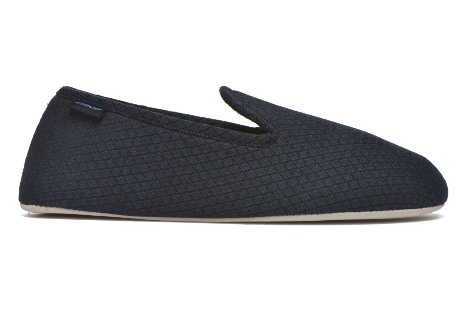 Slipper velours texturé Bleu
