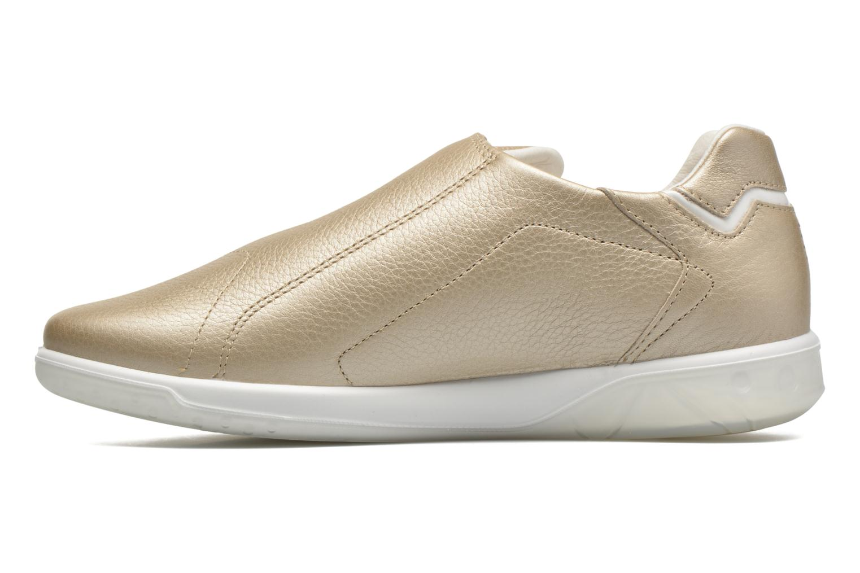 Sneakers TBS Easy Walk Orrelie Oro e bronzo immagine frontale