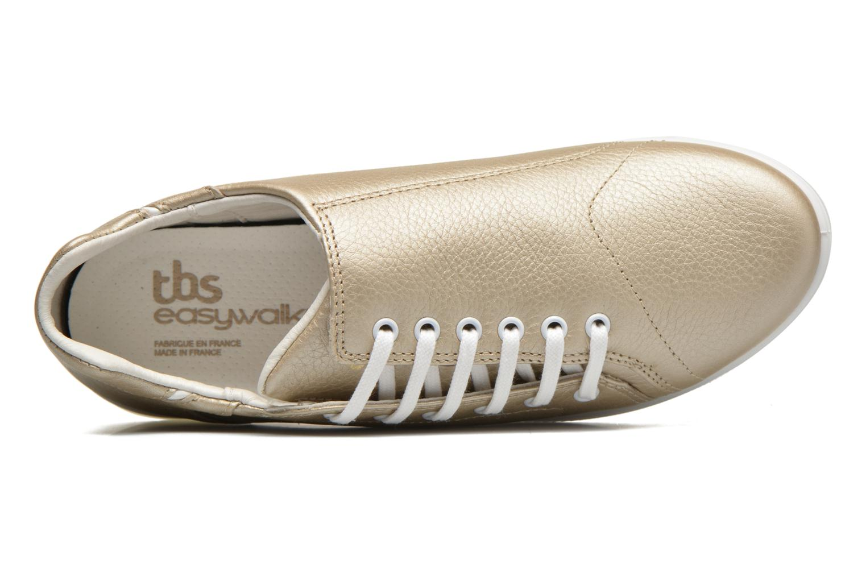 Sneakers TBS Easy Walk Orrelie Oro e bronzo immagine sinistra