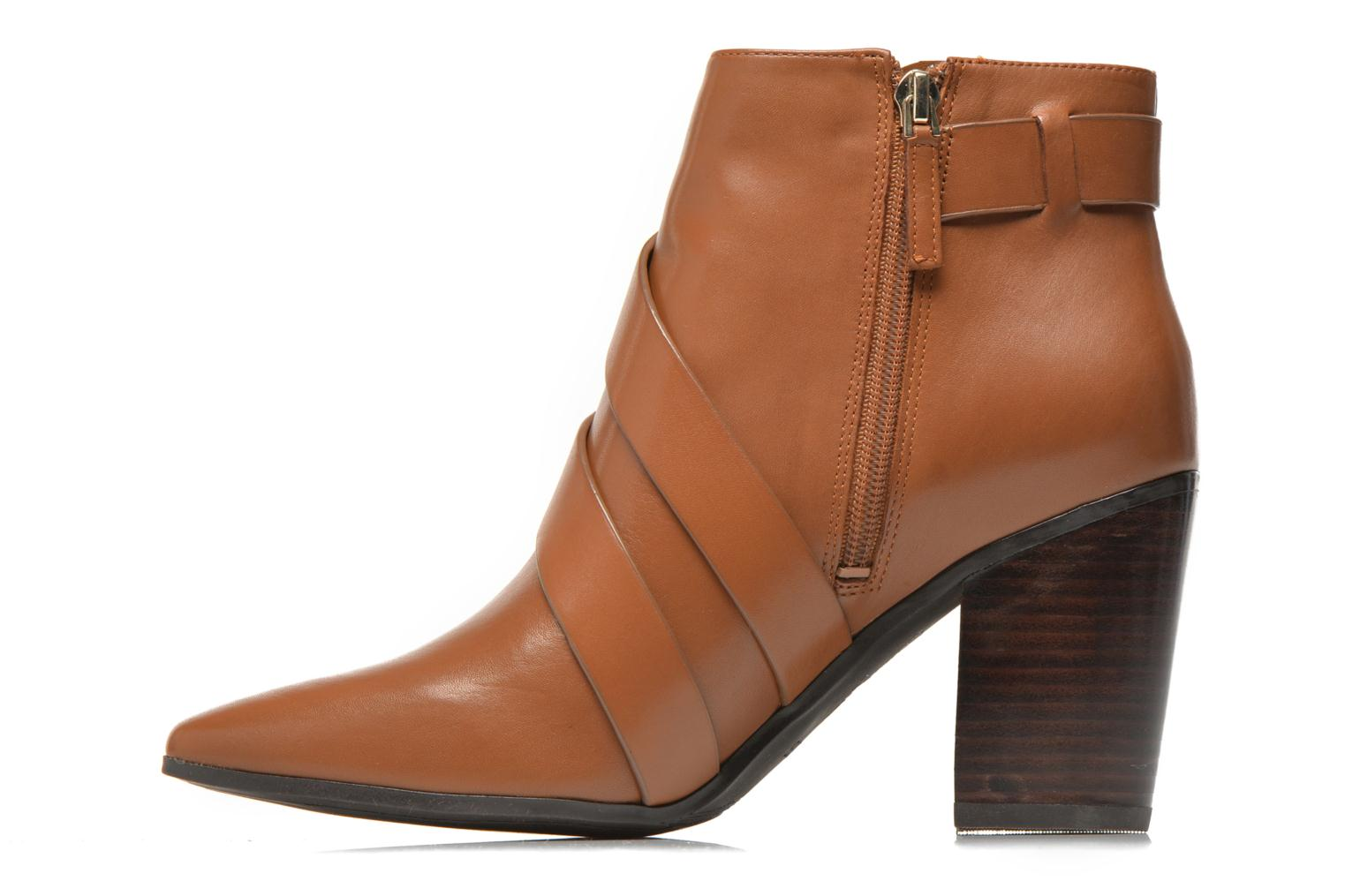 Ankle boots Guess Hea Brown front view