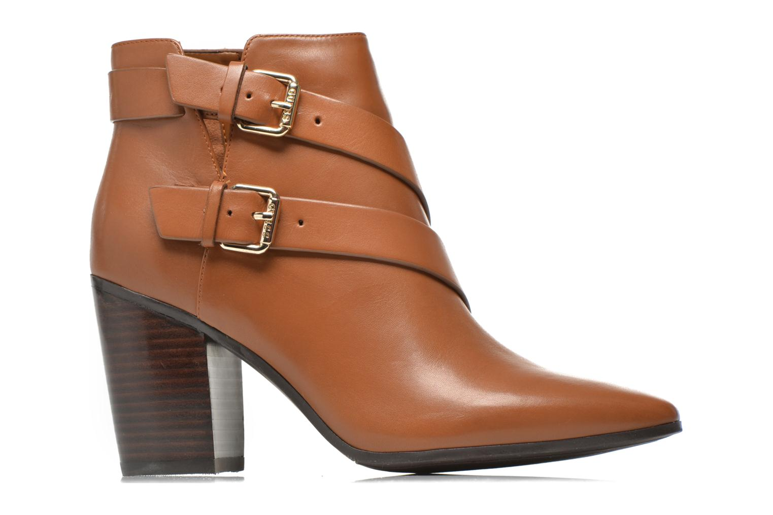 Ankle boots Guess Hea Brown back view