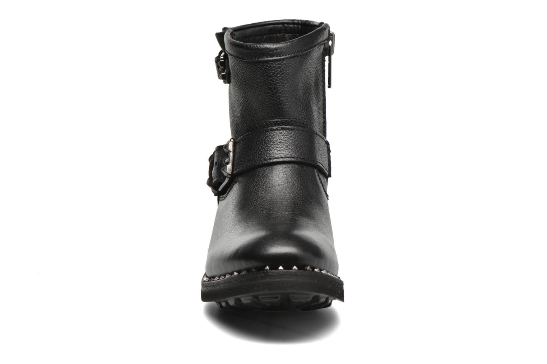 Bottines et boots Ash Speed Noir vue portées chaussures