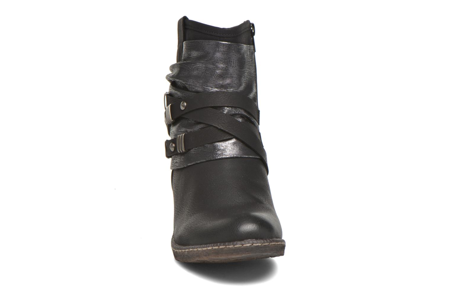 Ankle boots Rieker Gil K1483 Black model view