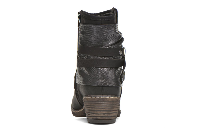 Bottines et boots Rieker Gil K1483 Noir vue droite