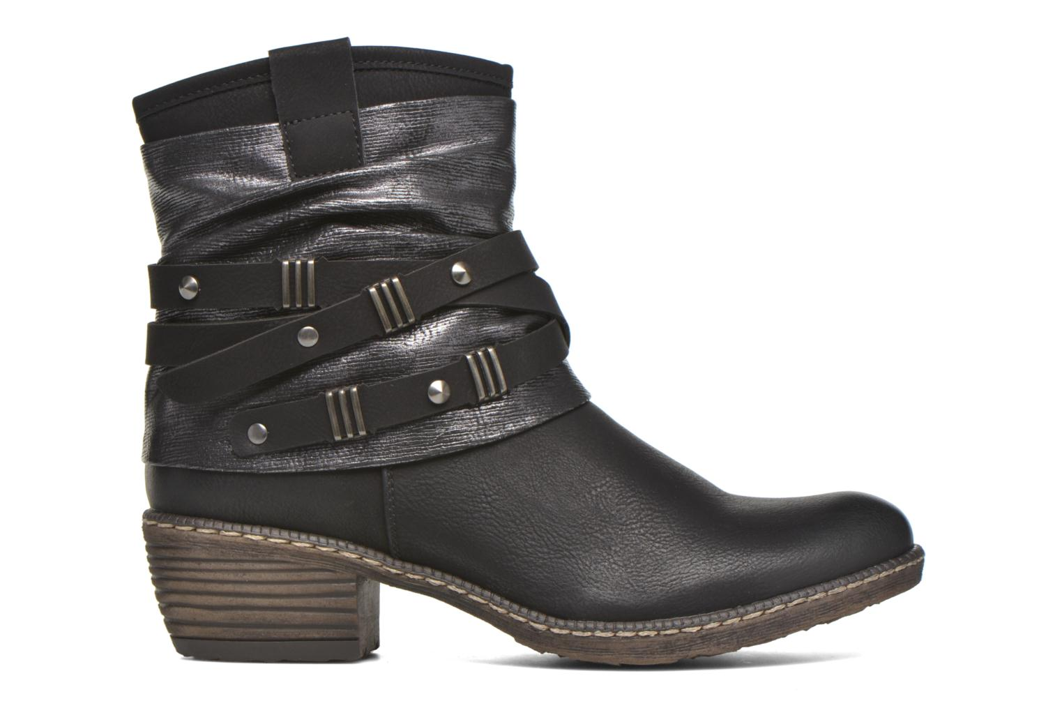 Ankle boots Rieker Gil K1483 Black back view