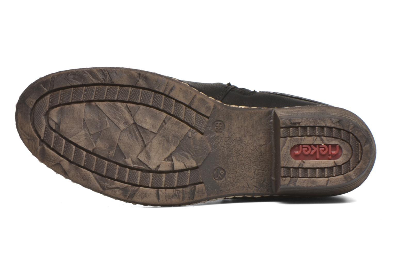 Bottines et boots Rieker Gil K1483 Noir vue haut