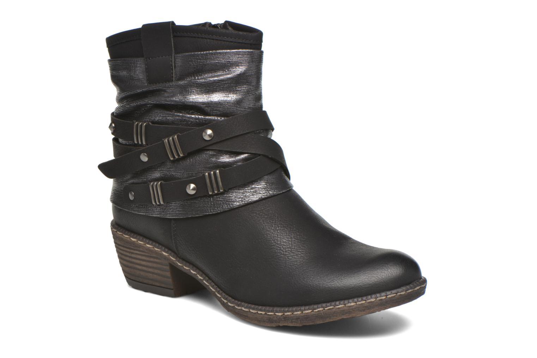 Bottines et boots Rieker Gil K1483 Noir vue détail/paire