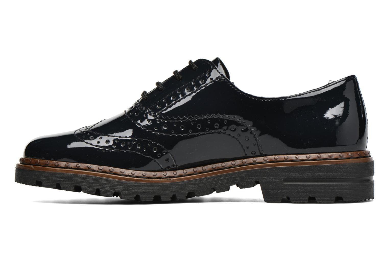 Chaussures à lacets Rieker Lisa 54812 Bleu vue face