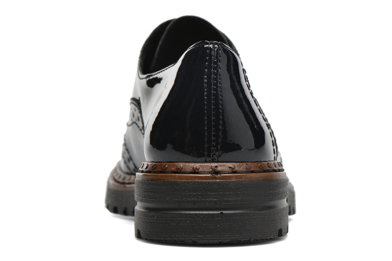 Chaussures à lacets Rieker Lisa 54812 Bleu vue droite
