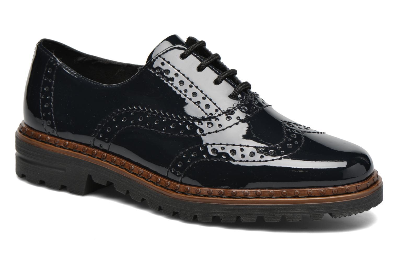 Chaussures à lacets Rieker Lisa 54812 Bleu vue détail/paire