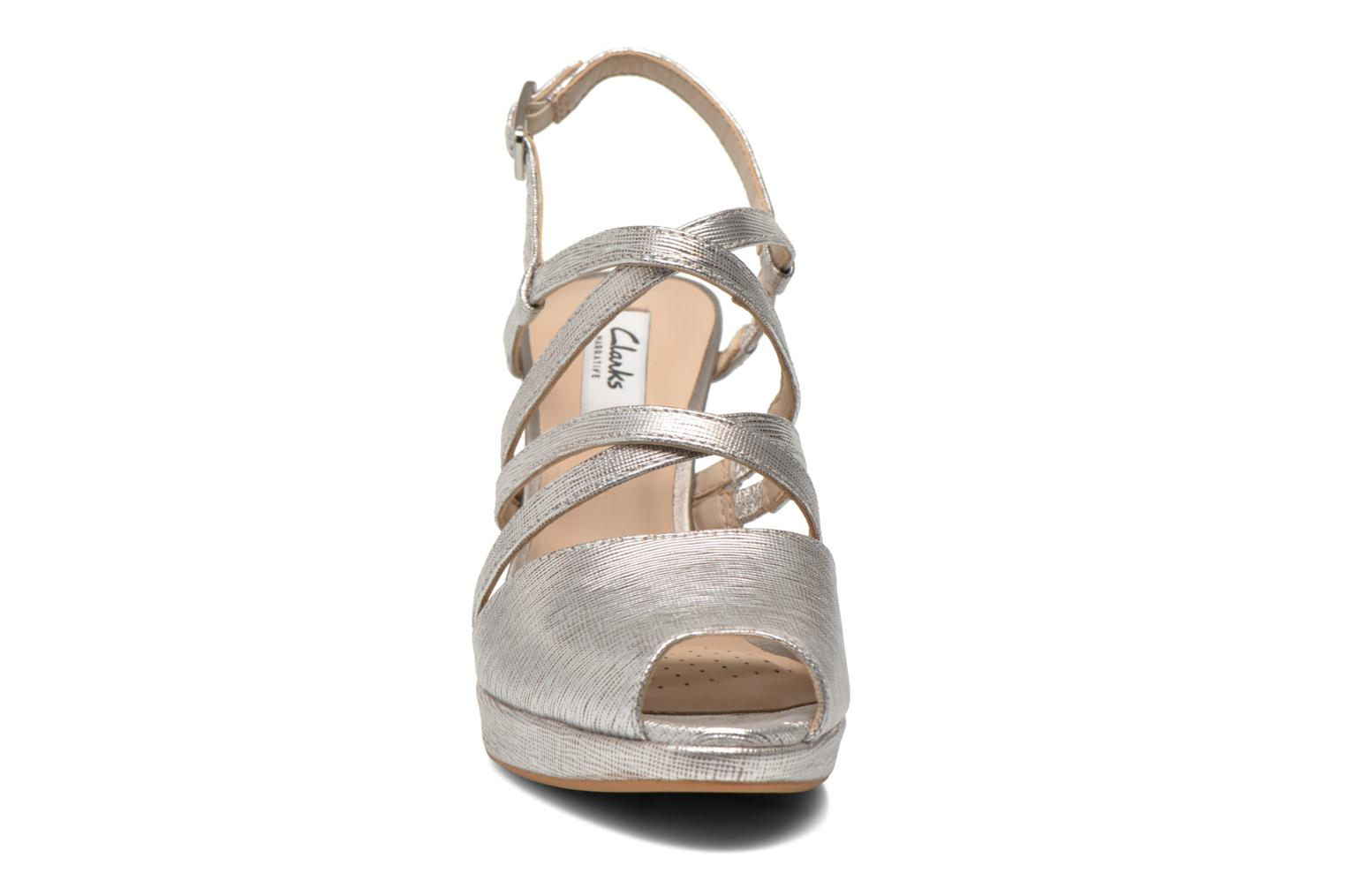 Sandals Clarks Kendra Cool Silver model view