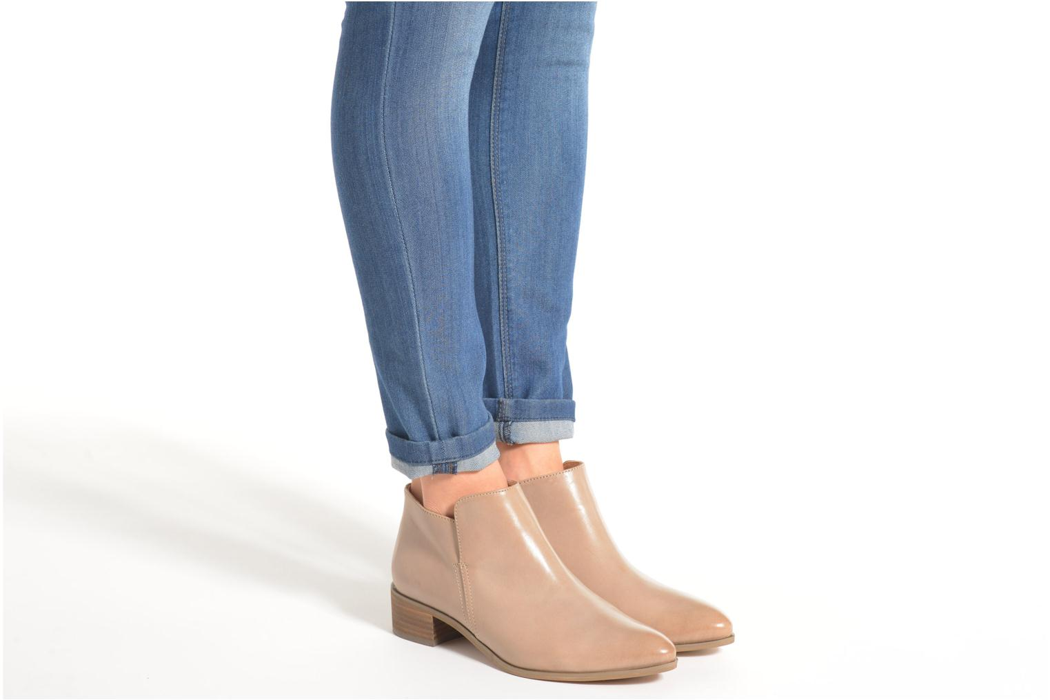 Ankle boots Clarks Marlina Revel Beige view from underneath / model view