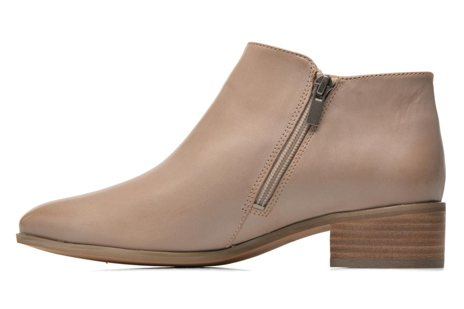 Ankle boots Clarks Marlina Revel Beige front view