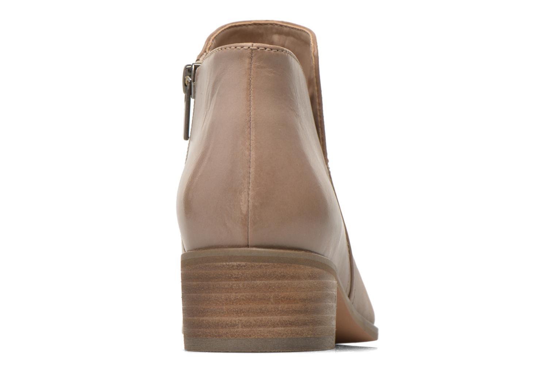 Bottines et boots Clarks Marlina Revel Beige vue droite