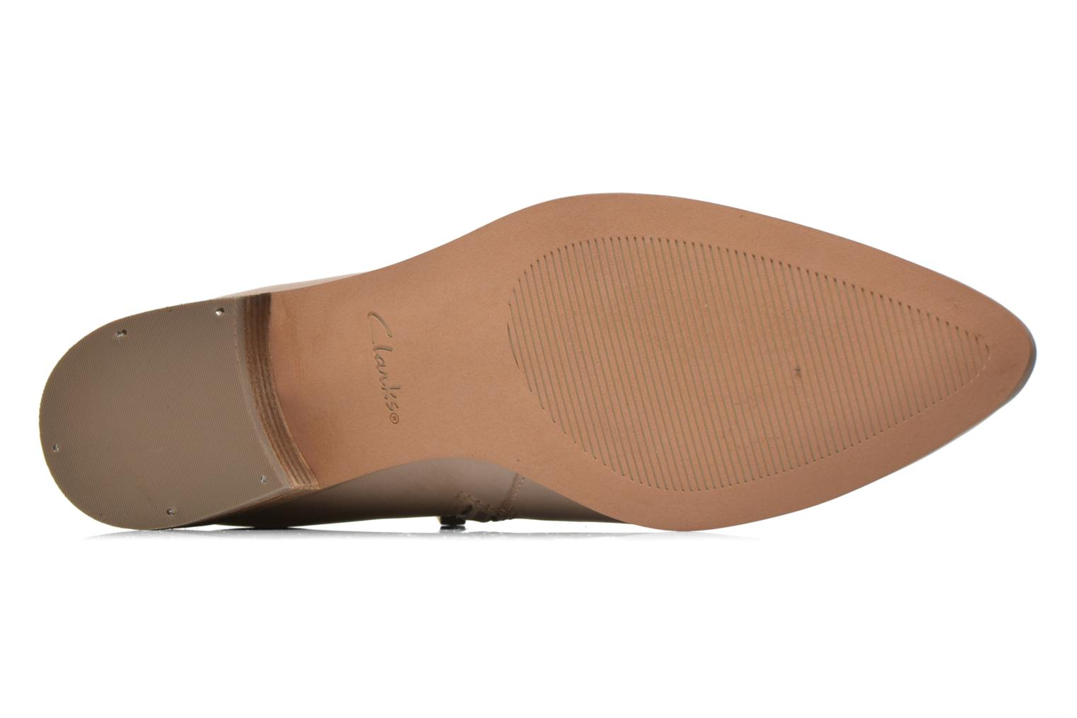 Ankle boots Clarks Marlina Revel Beige view from above