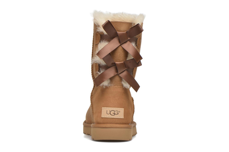 Bottines et boots UGG Bailey Bow II Marron vue droite