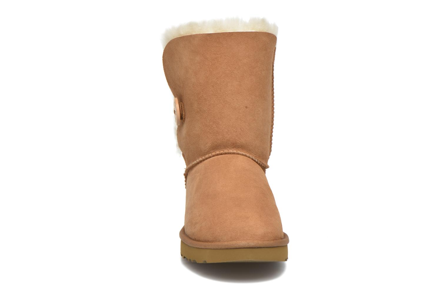 Ankle boots UGG W Bailey Button II Brown model view