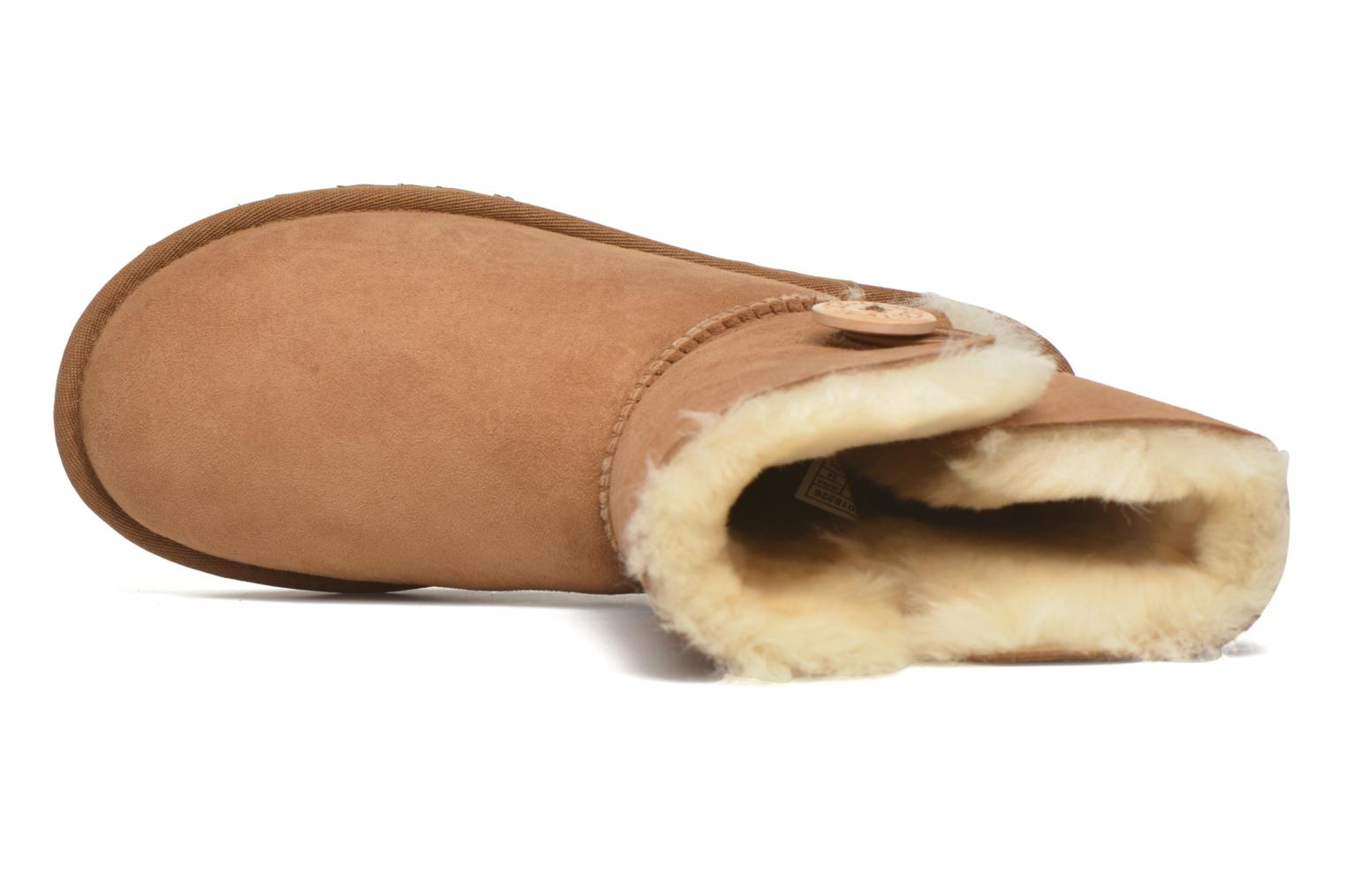 Ankle boots UGG W Bailey Button II Brown view from the left