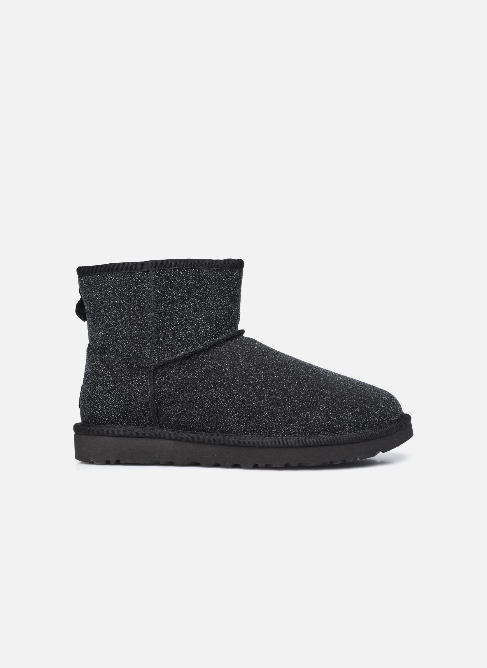 Bottines et boots UGG W Classic Mini Serein Noir vue derrière