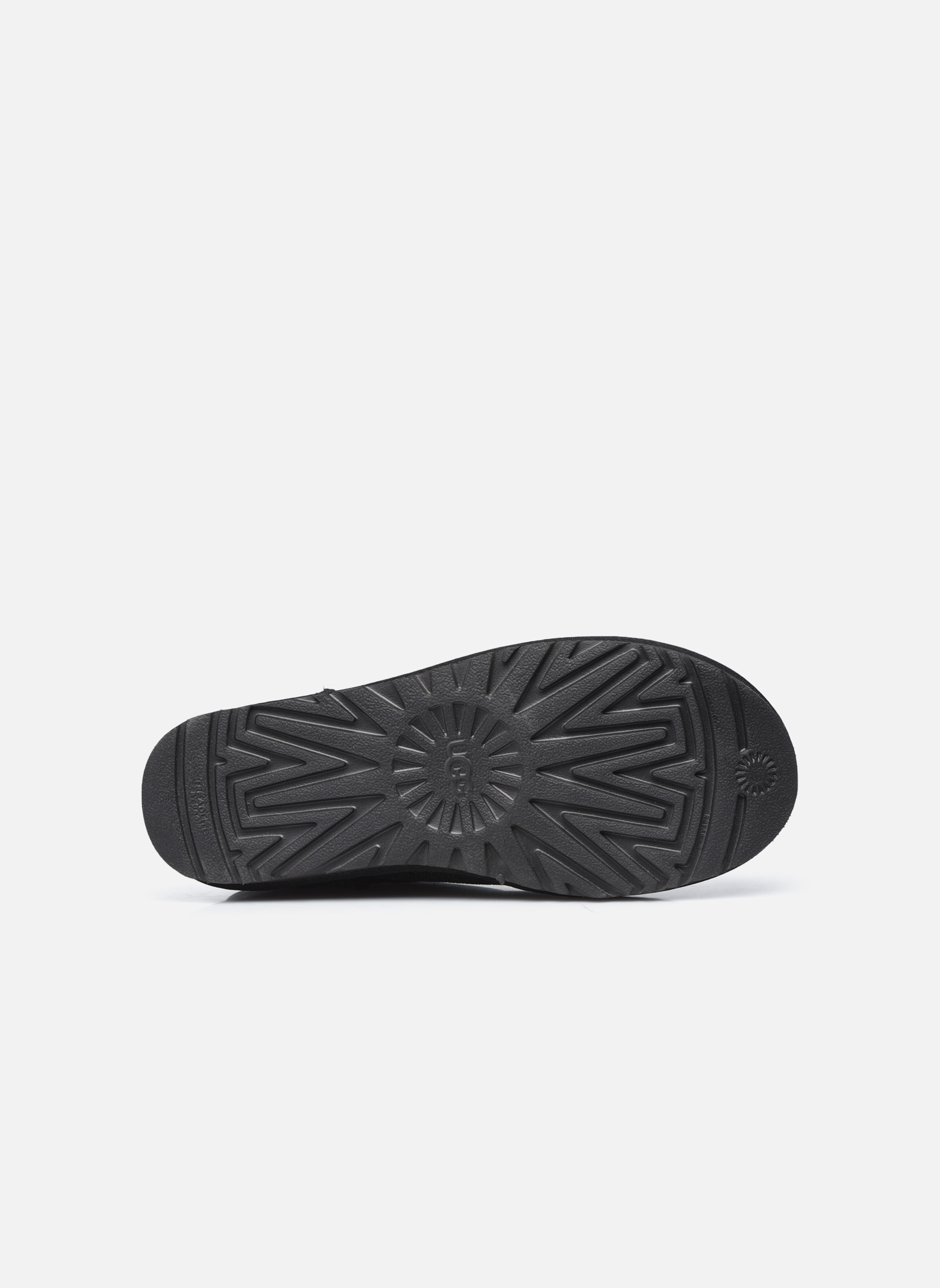 Bottines et boots UGG W Classic Mini Serein Noir vue haut
