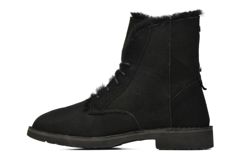 Bottines et boots UGG W Quincy Noir vue face