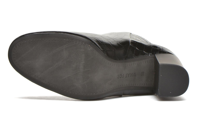 Bottines et boots What For Almé Noir vue haut