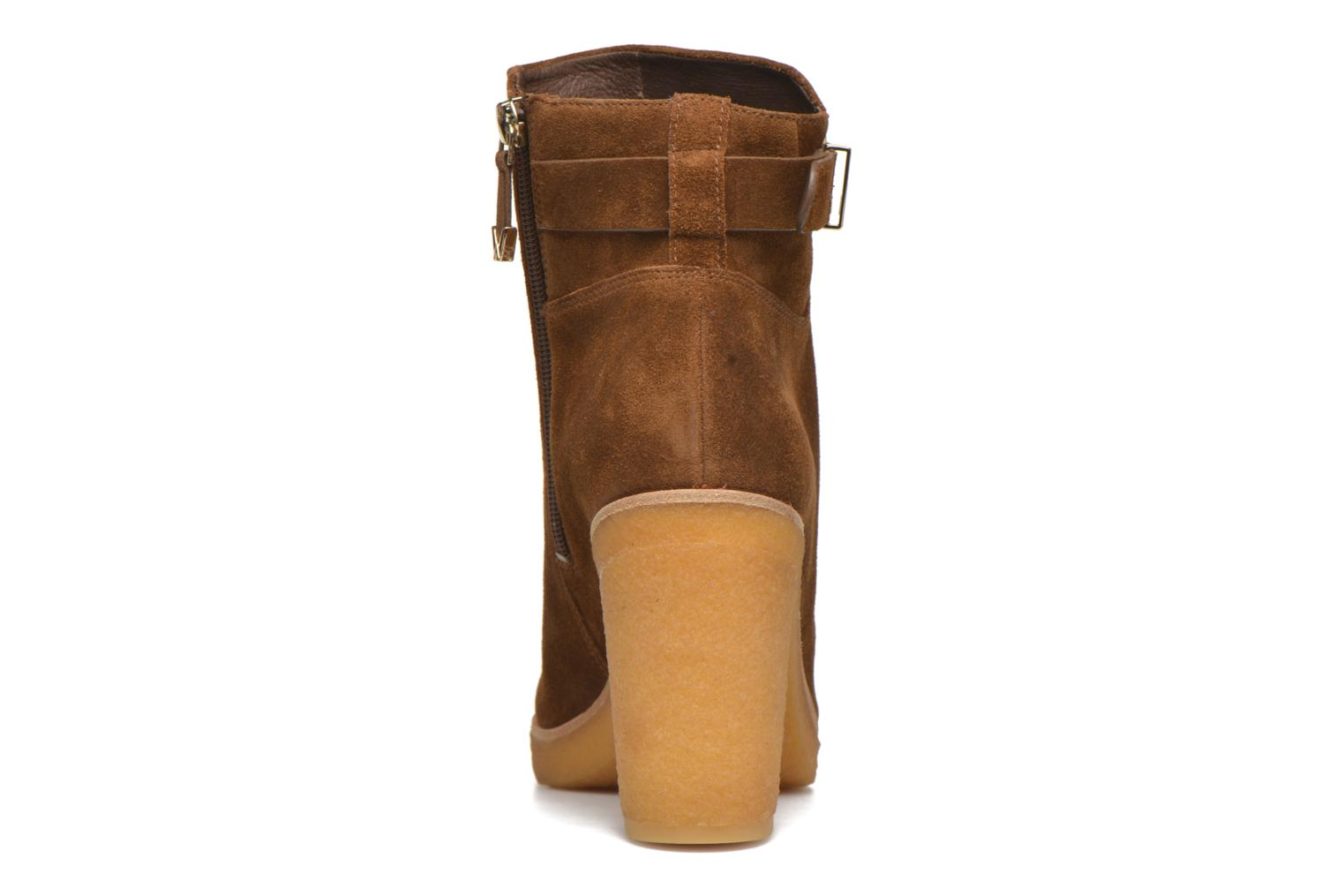 Ankle boots What For Ofo Brown view from the right