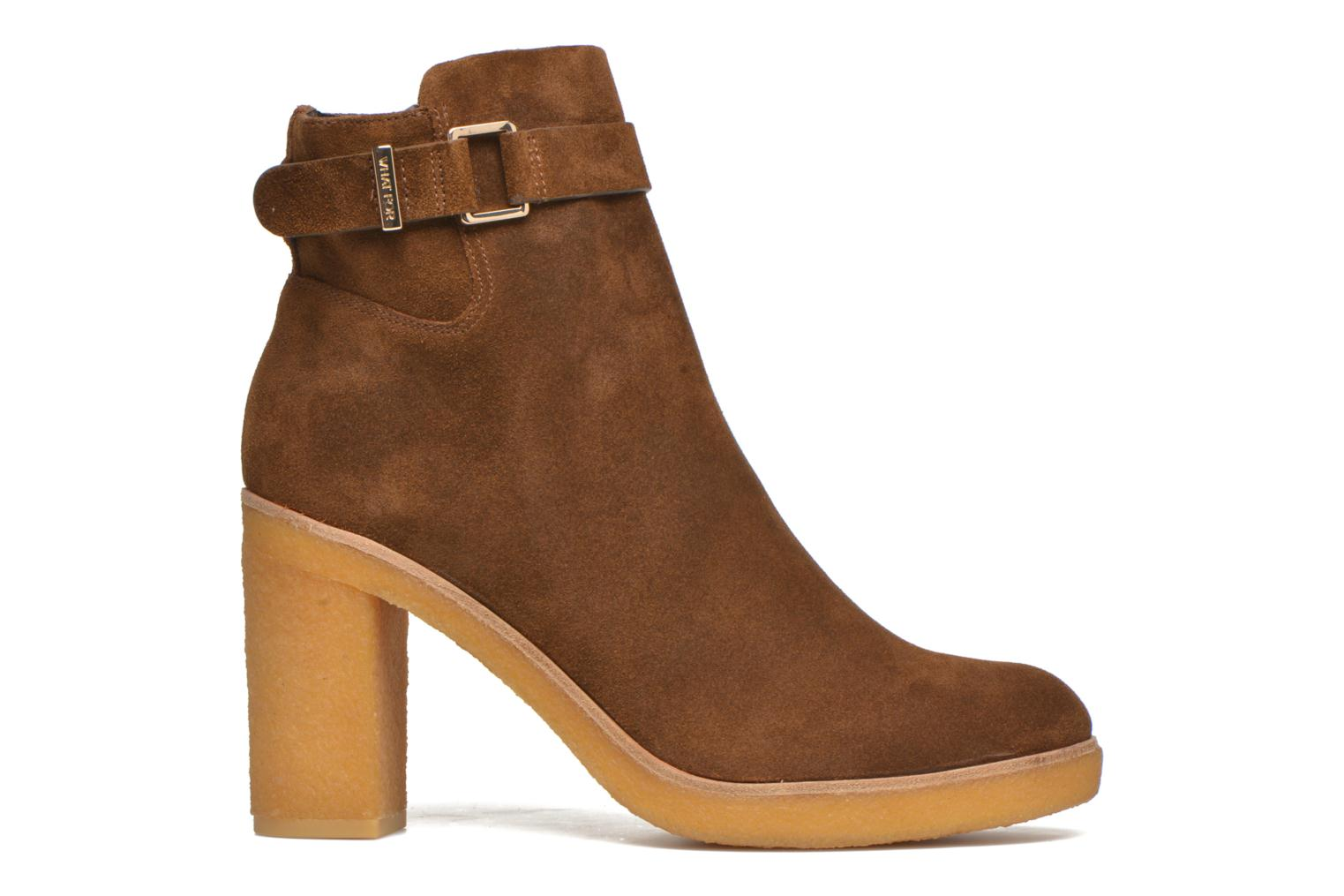 Ankle boots What For Ofo Brown back view