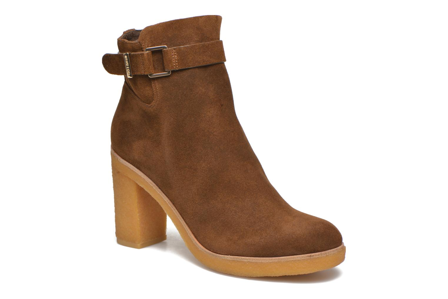 Ankle boots What For Ofo Brown detailed view/ Pair view