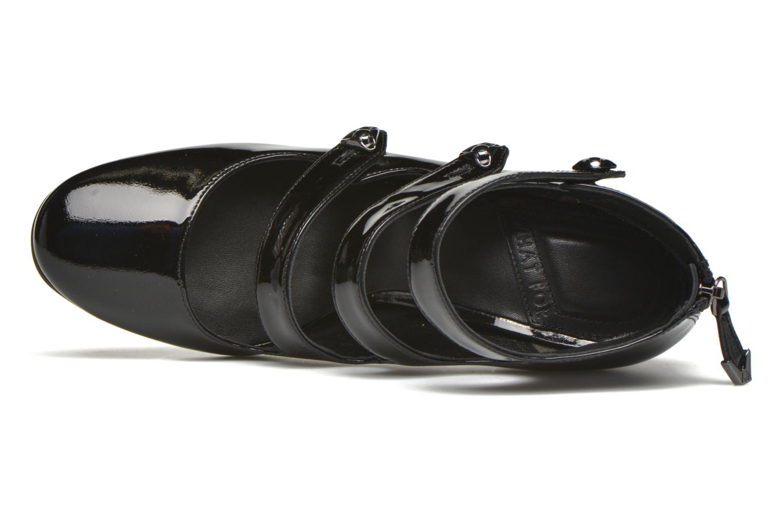 Zapatos de tacón What For Dincau Negro vista lateral izquierda