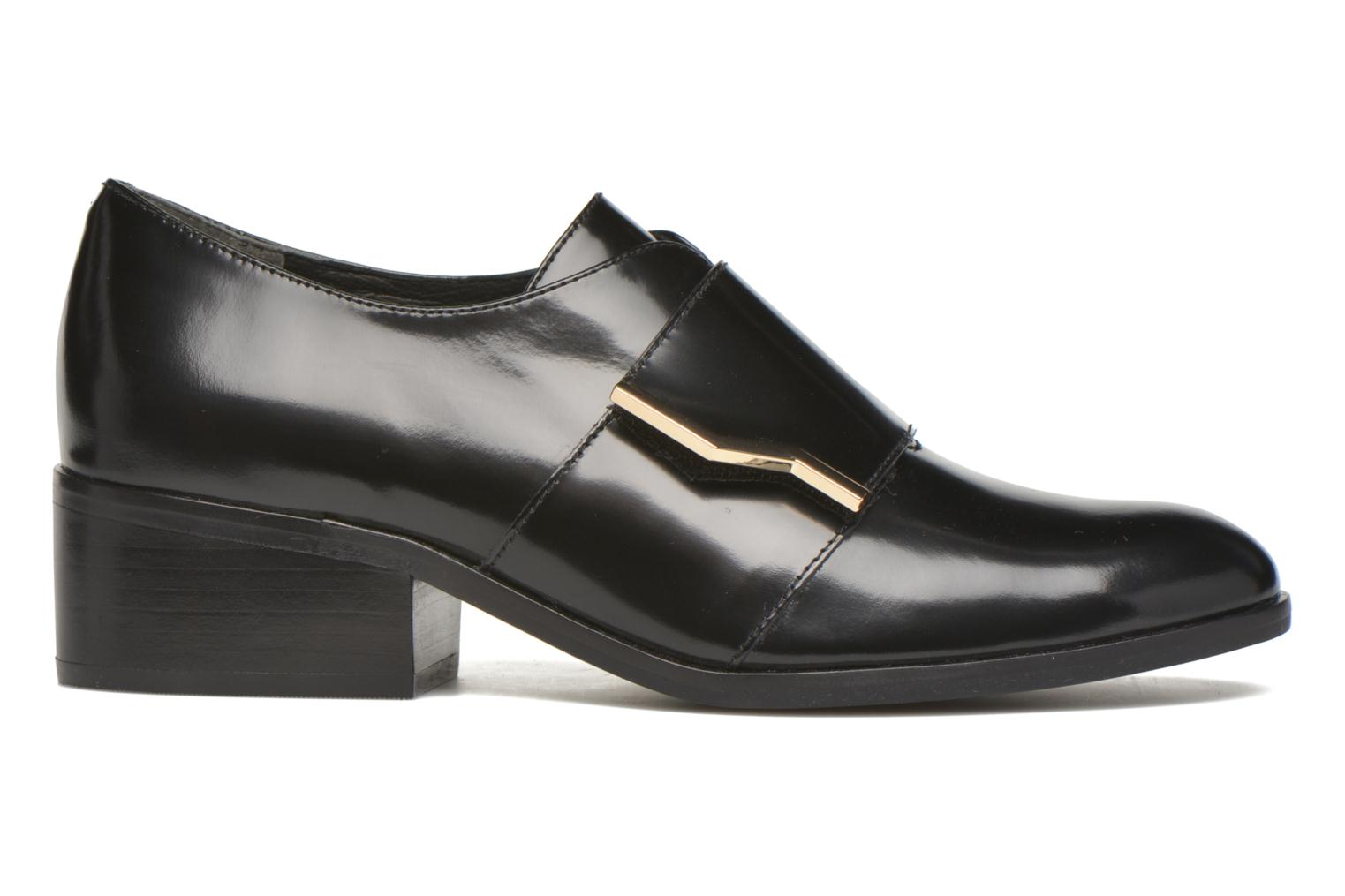Loafers What For Mindé Black back view