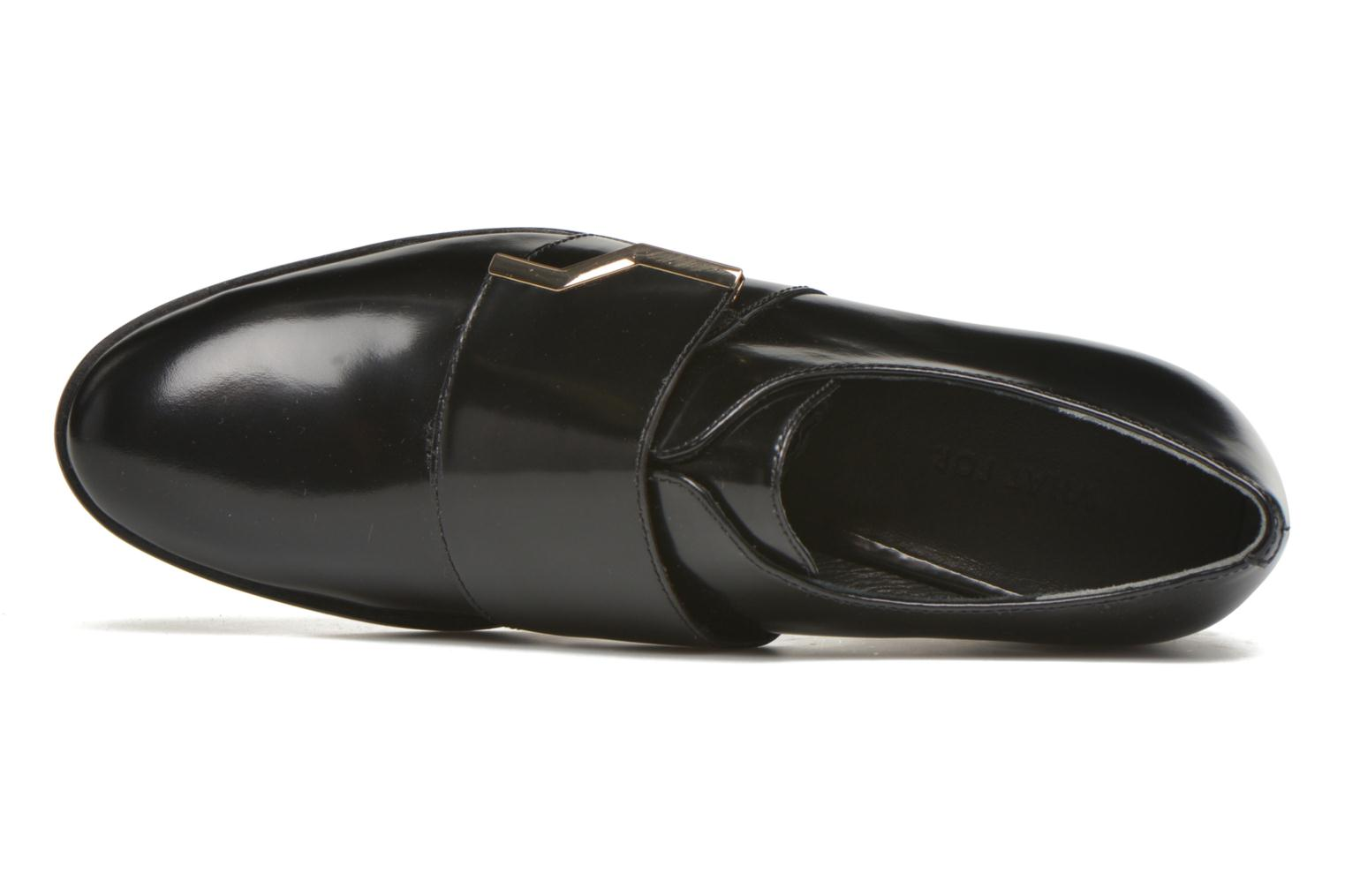 Loafers What For Mindé Black view from the left