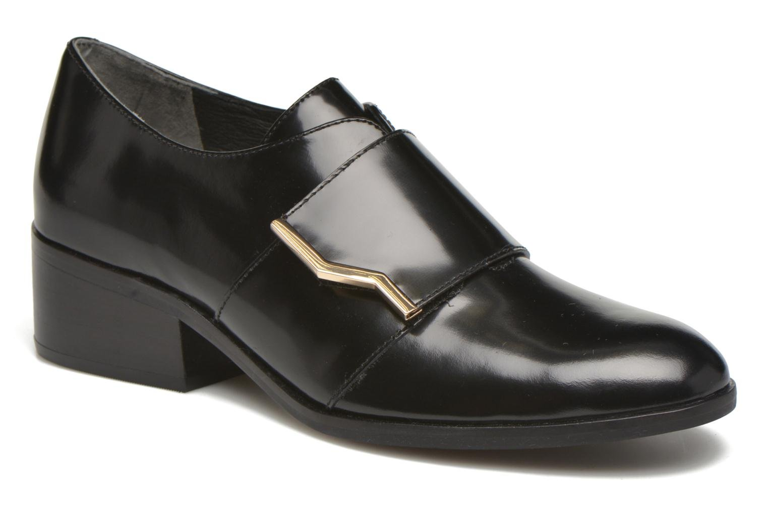 Loafers What For Mindé Black detailed view/ Pair view
