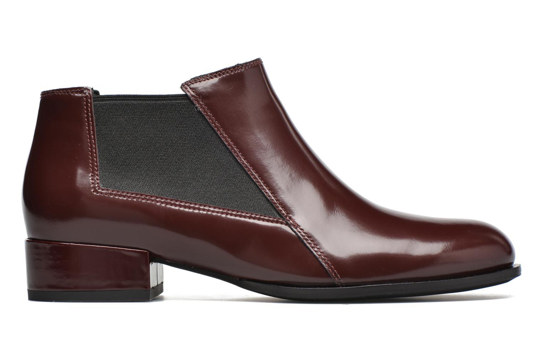 Boots en enkellaarsjes What For Sriso Bordeaux achterkant