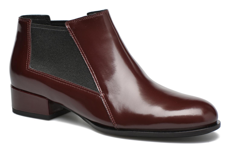 Boots en enkellaarsjes What For Sriso Bordeaux detail