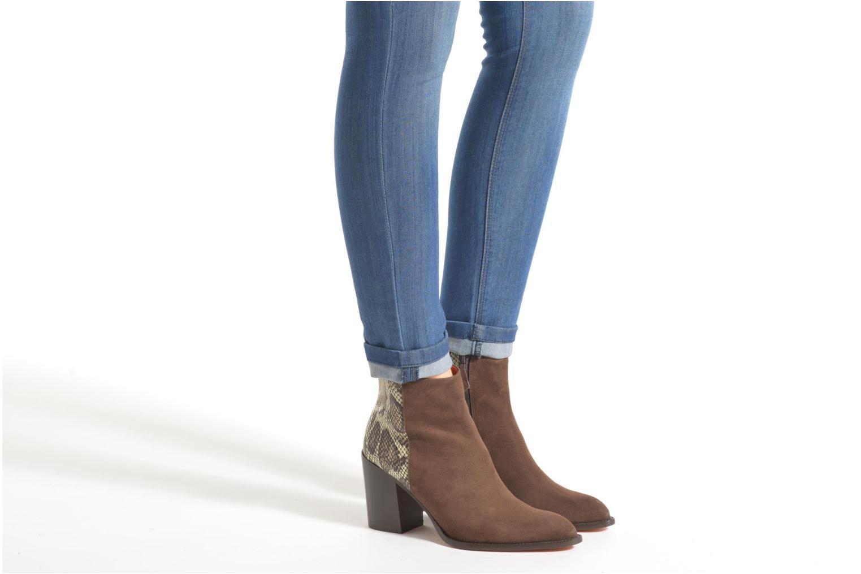 Stiefeletten & Boots Elizabeth Stuart Java 500 braun ansicht von unten / tasche getragen