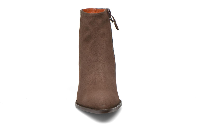 Bottines et boots Elizabeth Stuart Java 500 Marron vue portées chaussures