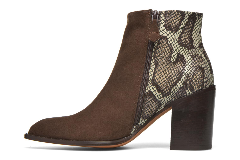 Bottines et boots Elizabeth Stuart Java 500 Marron vue face