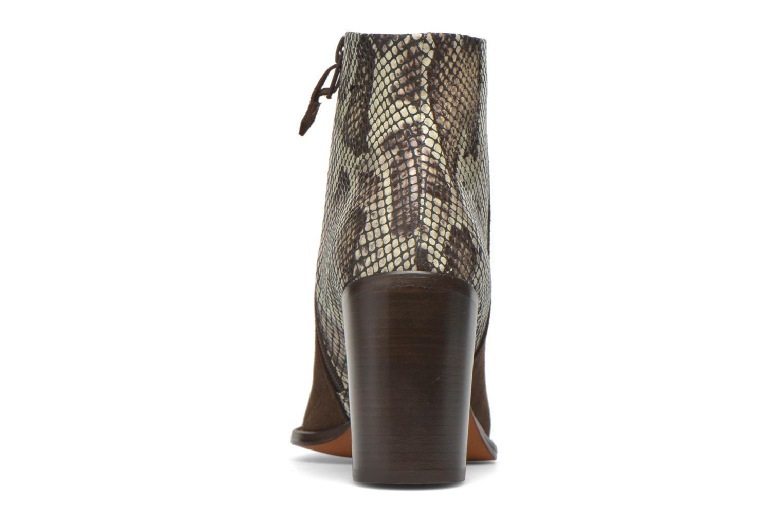 Bottines et boots Elizabeth Stuart Java 500 Marron vue droite
