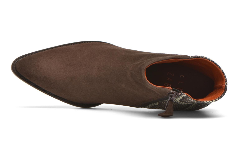 Bottines et boots Elizabeth Stuart Java 500 Marron vue gauche