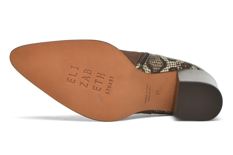 Bottines et boots Elizabeth Stuart Java 500 Marron vue haut